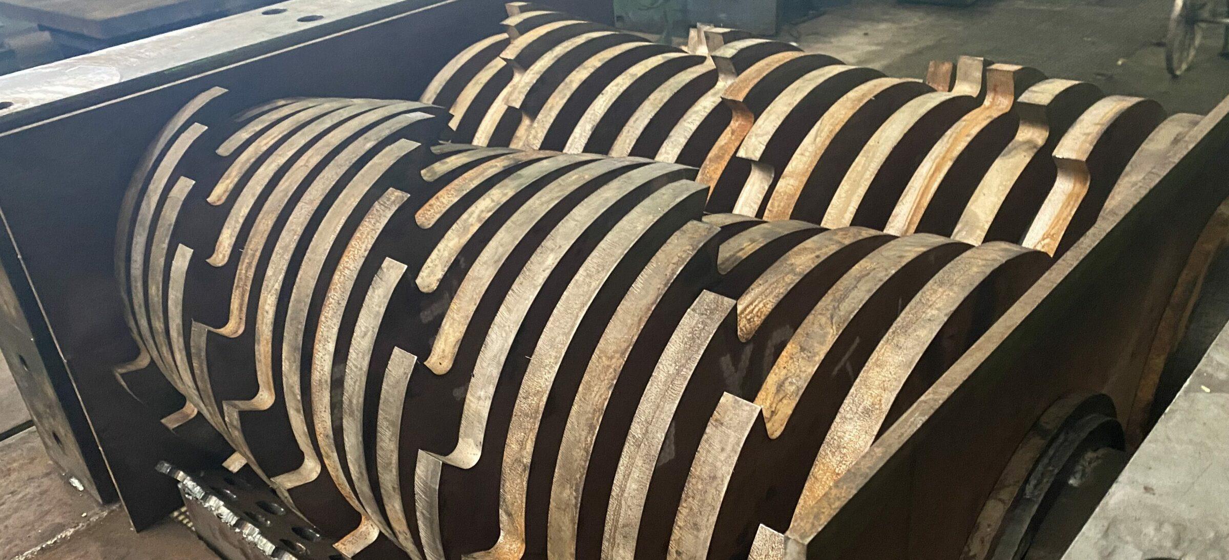 Оборудование для переработки шин — Каталог запасных частей